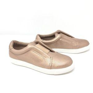 Bar III Hint Blush Low Top Slip On Sneaker Sz 8